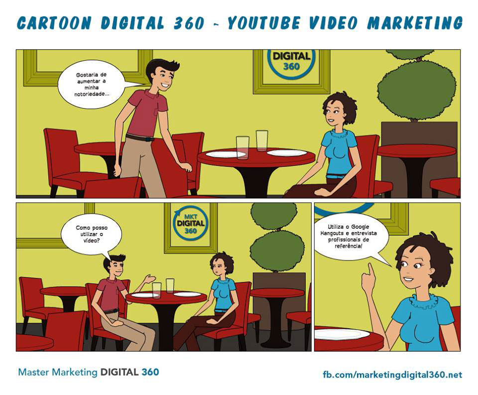 Cartoon Digital 360 - youtube video marketing