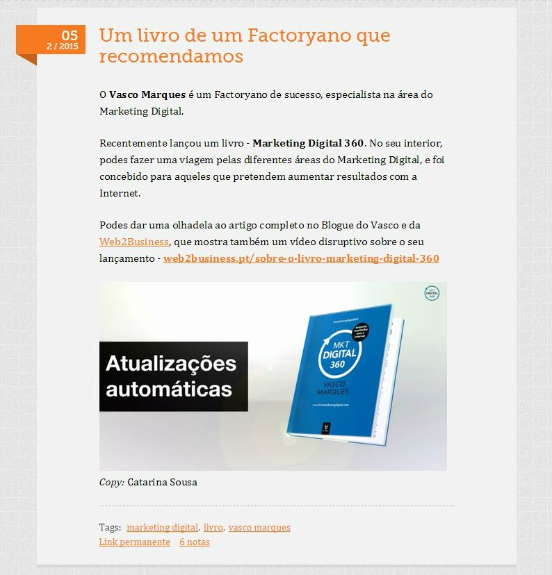 Factory livro marketing digital 360