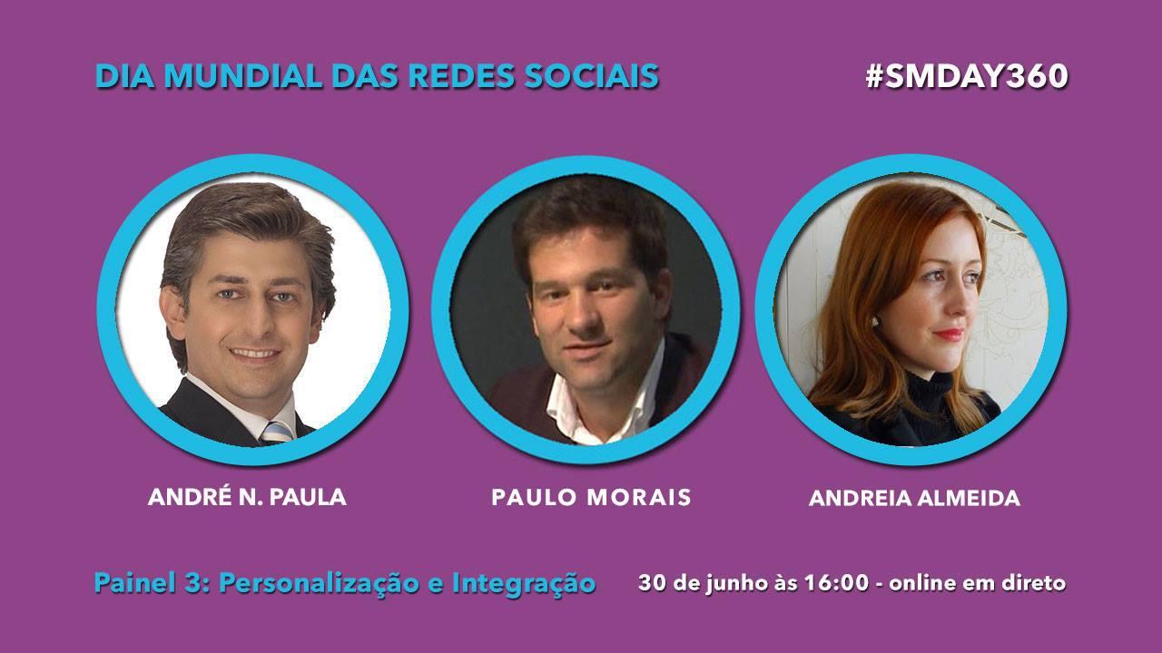 Dia Mundial das Redes Sociais - Personalização e Integração