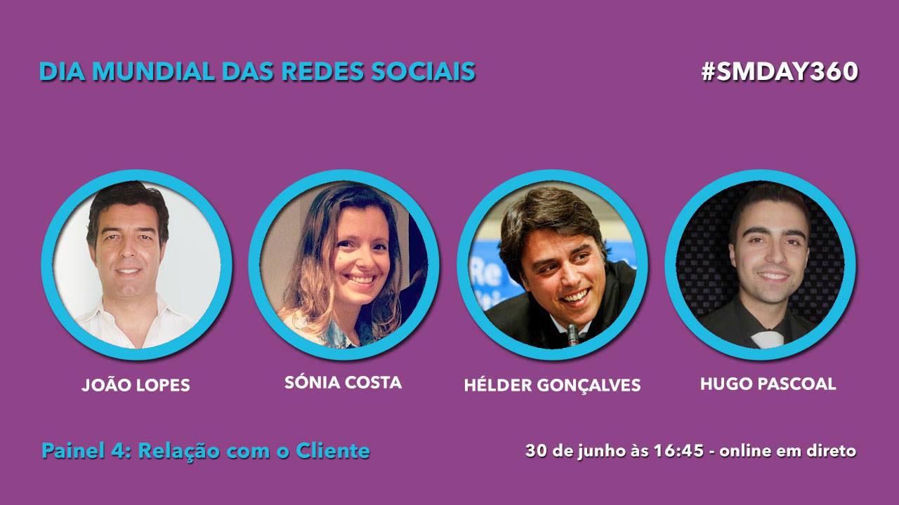 Dia Mundial das Redes Sociais Painel 4 Relação com o Cliente