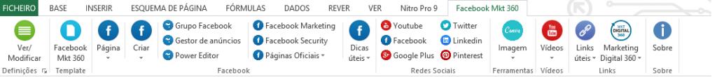 MS Excel Facebook Marketing 360